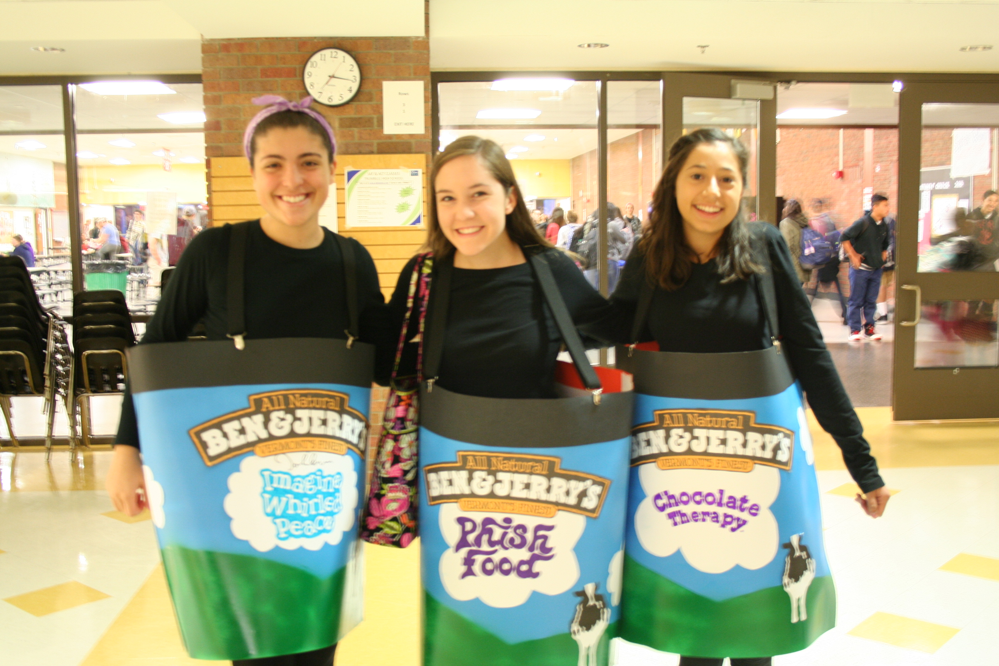 I scream, you scream, we all scream for THS's own Ben and Jerry's ice cream!